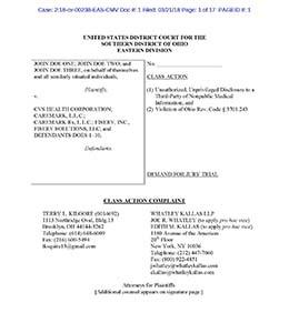 CVS Health Fiserv lawsuit