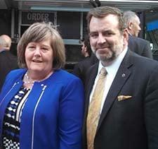 PMG Brennan and Mark Fallon